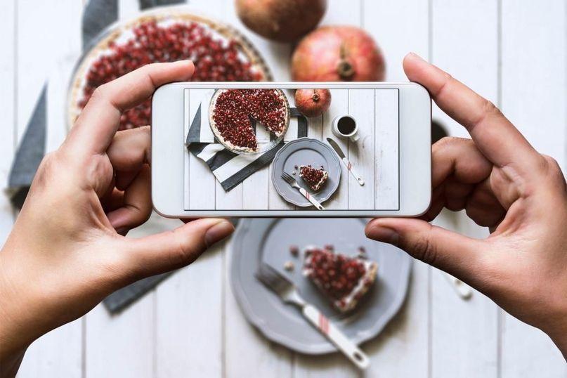 картинки фотографируют еду для постоянного